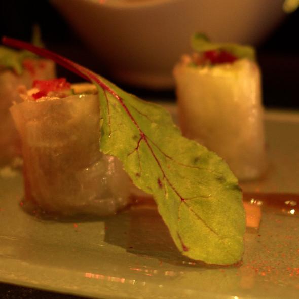 Duck Confit Thai Spring Rolls @ Negev Restaurant