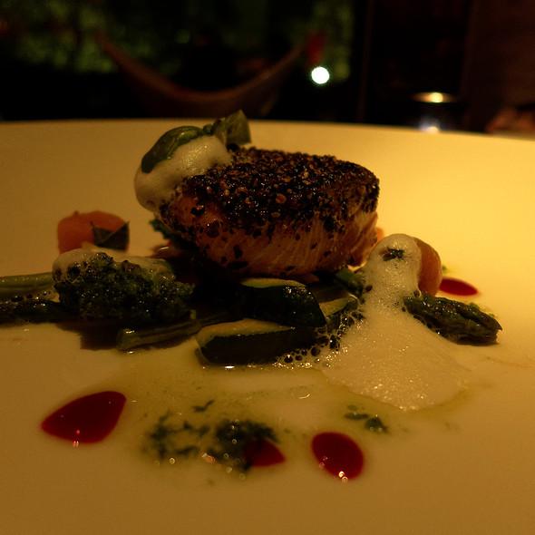Grilled Salmon @ Negev Restaurant