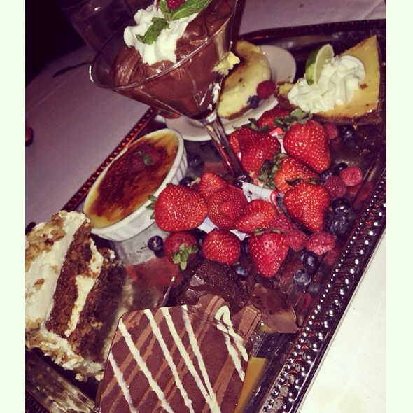 Dessert tray - Morton's The Steakhouse - Santa Ana, Santa Ana, CA