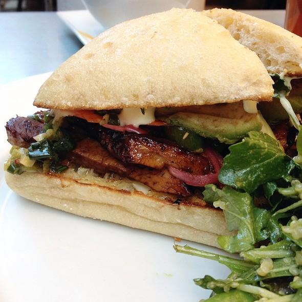 Pork Belly Banh Mi Sandwich - Thomas Hill Organics, Paso Robles, CA