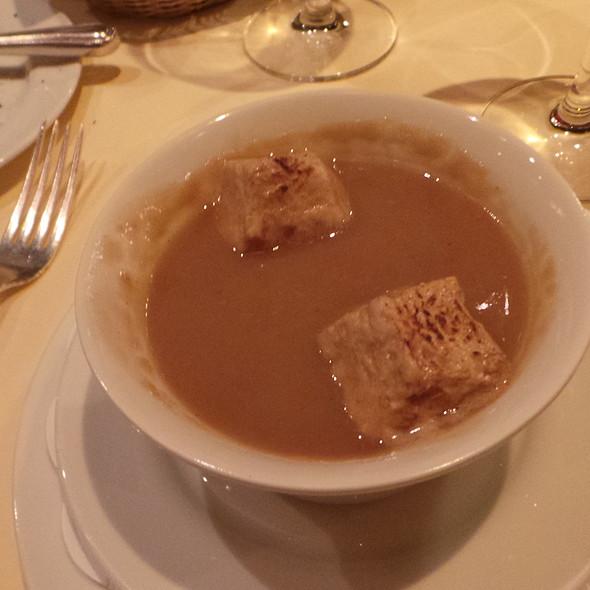 Chestnut soup   Old balsamic vinegar   Marshmallow @ Weinhaus Tante Anna