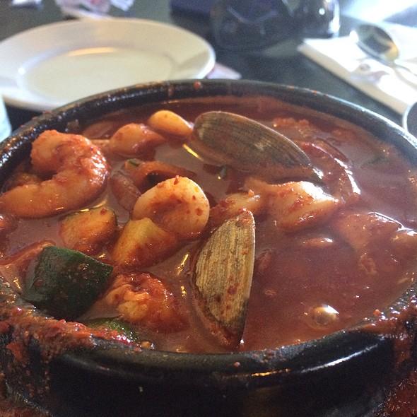 Soon Du Bu (spicy tofu stew) - Stone Korean Kitchen, San Francisco, CA