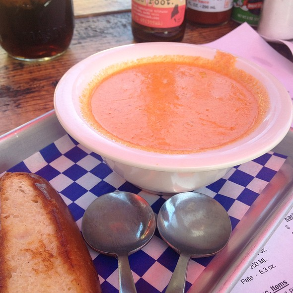 Lobster & Corn Chowder  @ New England Lobster Market & Eatery