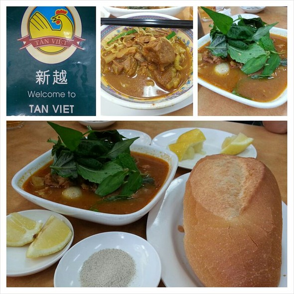 Curry Goat @ Tan Viet Noodle House