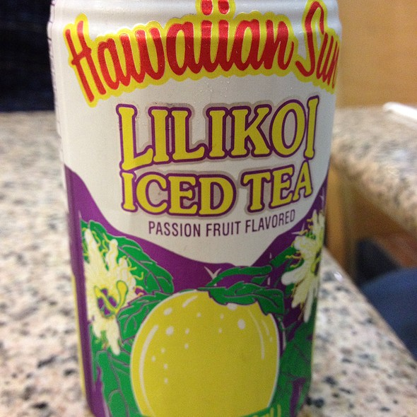 Lilikoi Iced Tea