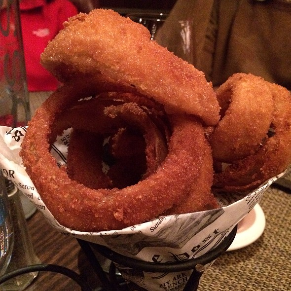 Onion Rings - Old Homestead Steakhouse- New York City, New York, NY