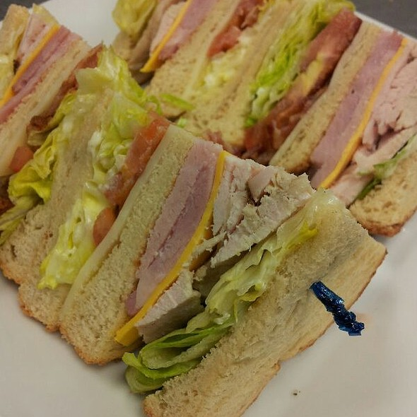 Smoked Turkey Club Sandwich