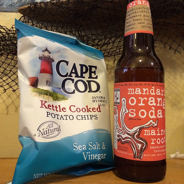 Cape Cod & Maine Root Orange Soda