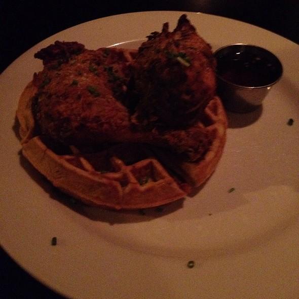 Buttermilk Waffles and Fried Chicken
