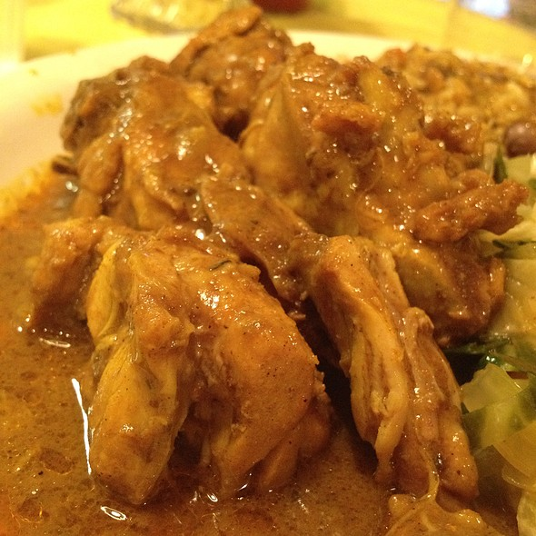 Curry Chicken @ Little Jamaican Restaurant