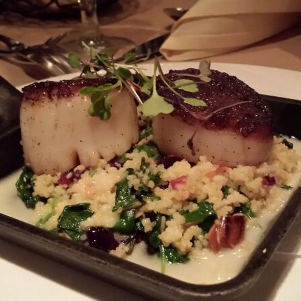 Seared Diver Sea Scallops - Bridget's Steakhouse, Ambler, PA