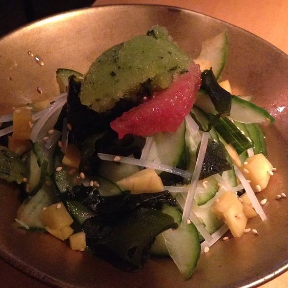 Simple Sunomono Salad - Blowfish Sushi - SF, San Francisco, CA