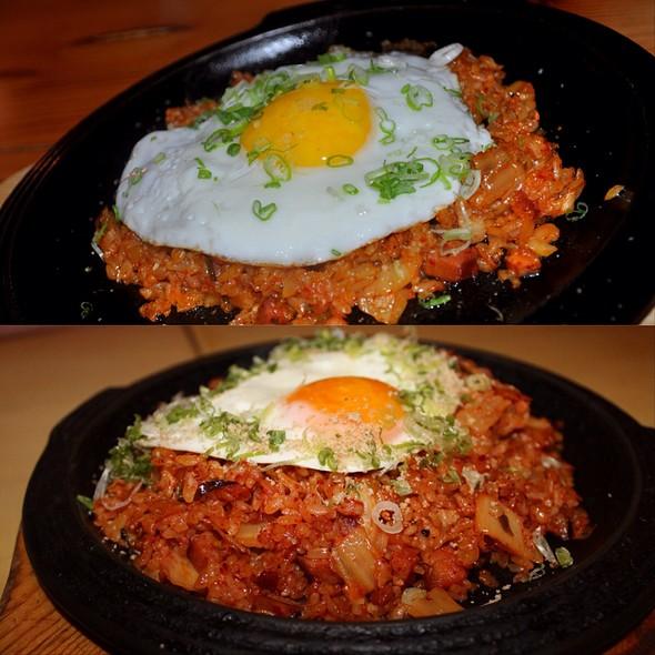 "Kimchi Bacon Chorizo ""Paella"""