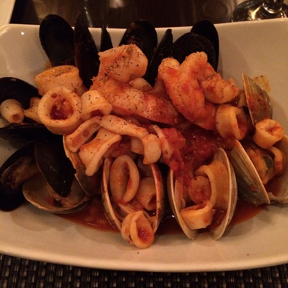 Risotto Pescatore - Ceci Italian Restaurant, New York, NY