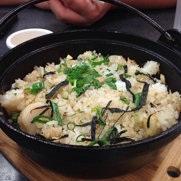 Garlic Butter Scallop Hot Pot @ Nori's Saimin & Snacks