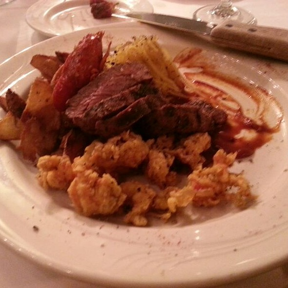 Buffalo Loin With Crawfish - The Gamekeeper, Boone, NC
