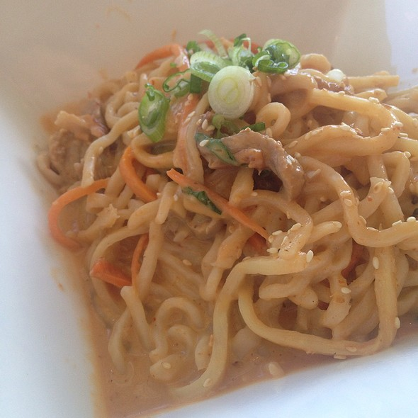 Shredded Roast Duck In A Spicy Red Curry Over Noodles @ Noodle Theory