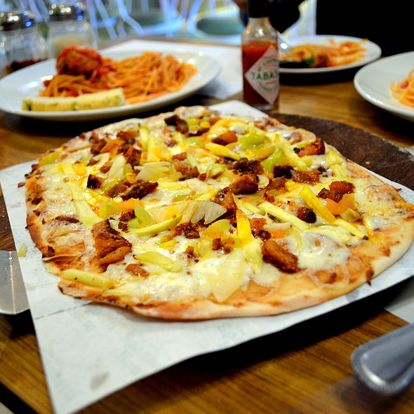 Thai Bagoong Pizza @ The Old Spaghetti House, SM Calamba