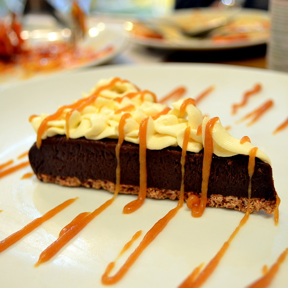 Chocolate Truffle Pie @ The Old Spaghetti House, SM Calamba