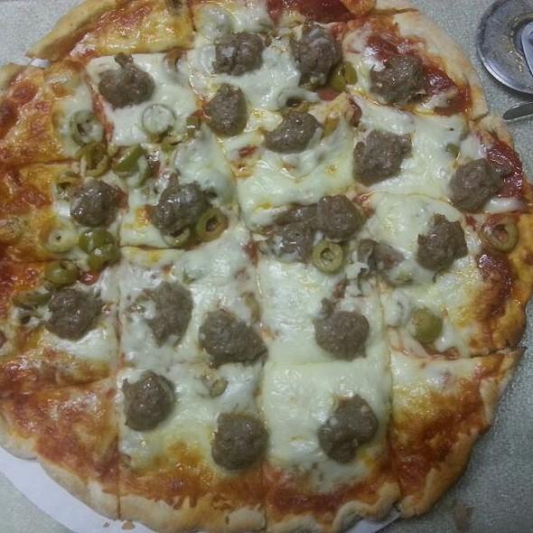 Sausagefest Pizza  @ Sammy's Pizza & Restaurant