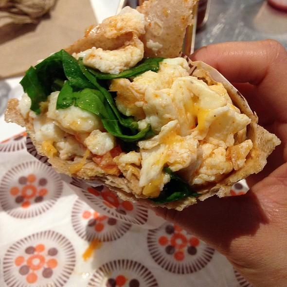 Southwestern Burrito @ Protein Bar