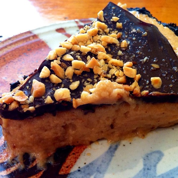 Chocolate Peanut Butter Pie @ First Slice Pie Cafe