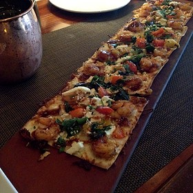 Chipotle Shrimp Flatbread