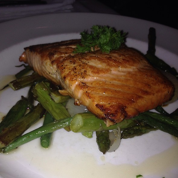 Seared Citrus Glazed Salmon - The Capital Grille - Ft. Lauderdale, Fort Lauderdale, FL