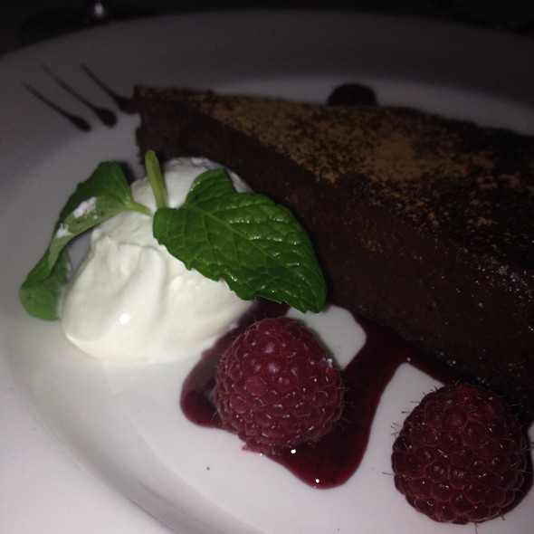 Flourless Chocolate Espresso Cake - The Capital Grille - Ft. Lauderdale, Fort Lauderdale, FL