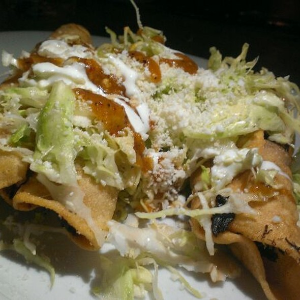 Chicken Flautas - Fogon Cocina Mexicana, Seattle, WA