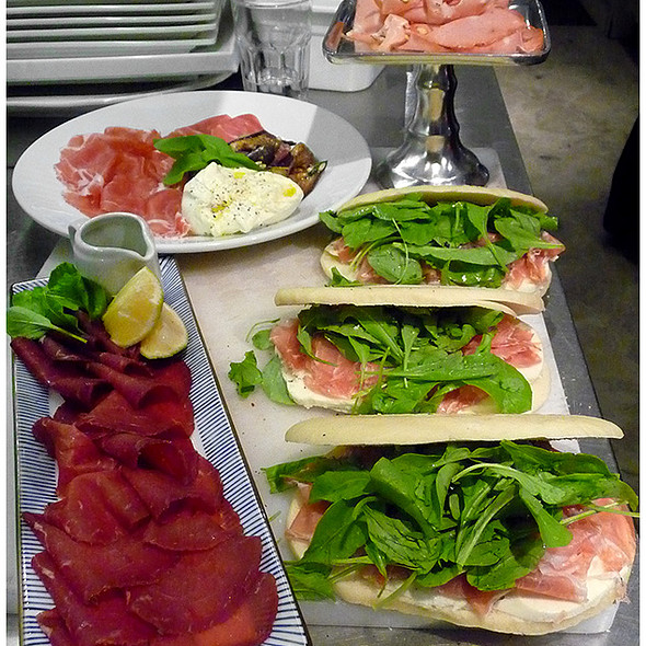 Antipasti @ Cucina Paradiso Belgrano