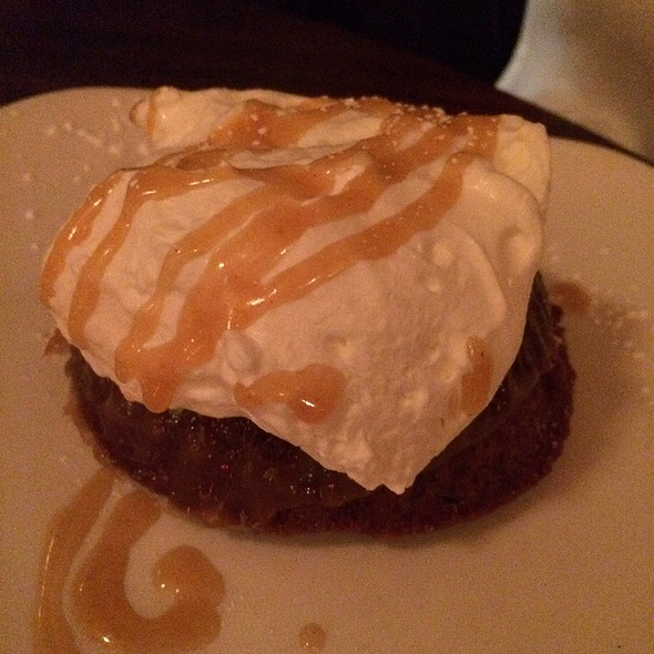 Toffee Pudding - Masona Grill, West Roxbury, MA