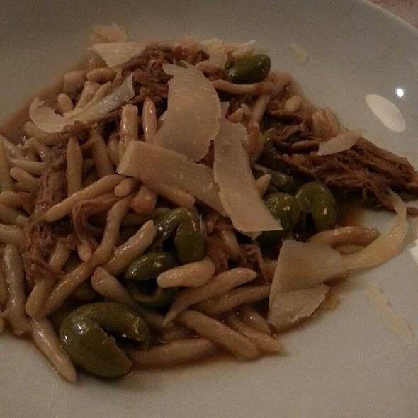 Strozzapreti With Braised Rabbit And Picholine Olives