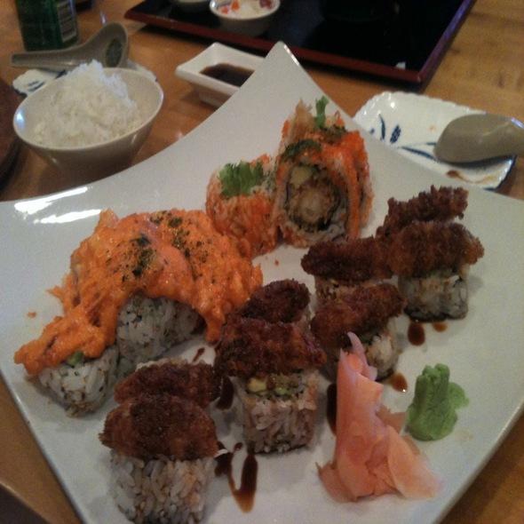 Sushi @ Arigato Sushi
