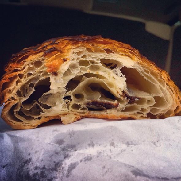 Chocolate Croissant @ Croissant Gourmet Bakery