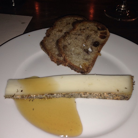 Tomme De Fontenay, Carrot Honey, Bread - DOC, Portland, OR