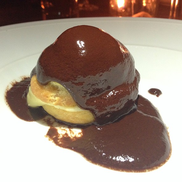 Profiterole, Orange Custard, Chocolate - DOC, Portland, OR