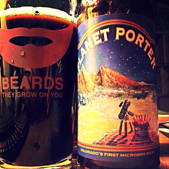 Boulder Brewing Planet Porter @ Worcester, MA