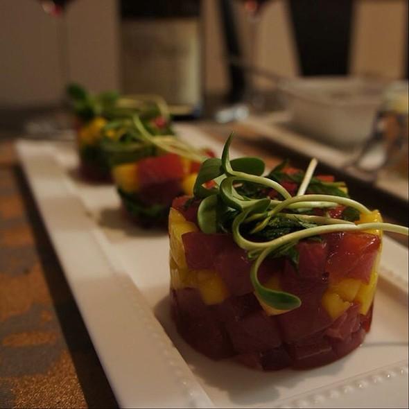 Mango And Tuna Tartare @ Home