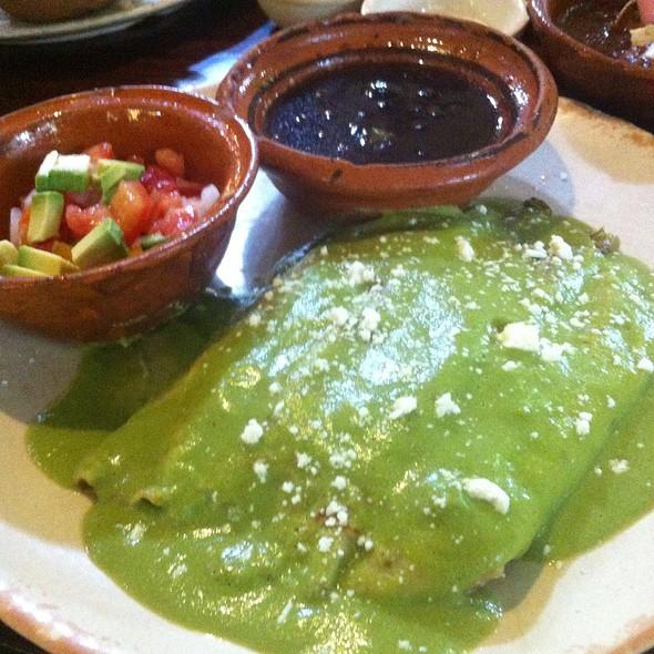 Crepes Con Tomato, Onion And Nopales @ cueva del chango
