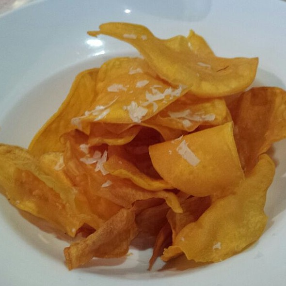 Sweet potato chips @ 2nd's Comfort Food Revisited