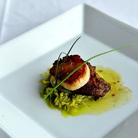 Foie Gras and scallops