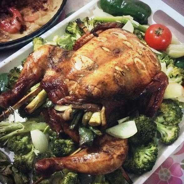 Oven Baked Chicken @ Home