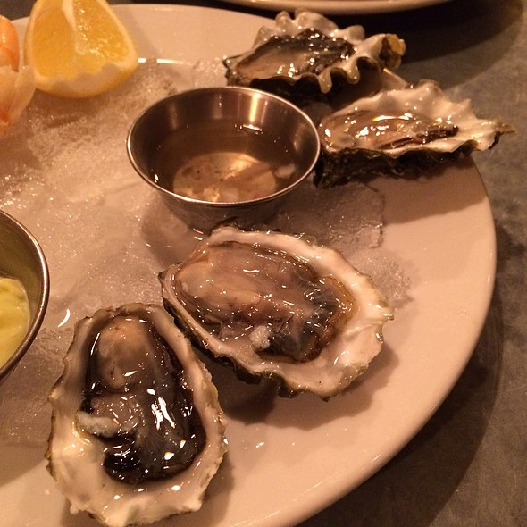 Barron Point Oysters @ Cafe Rouge