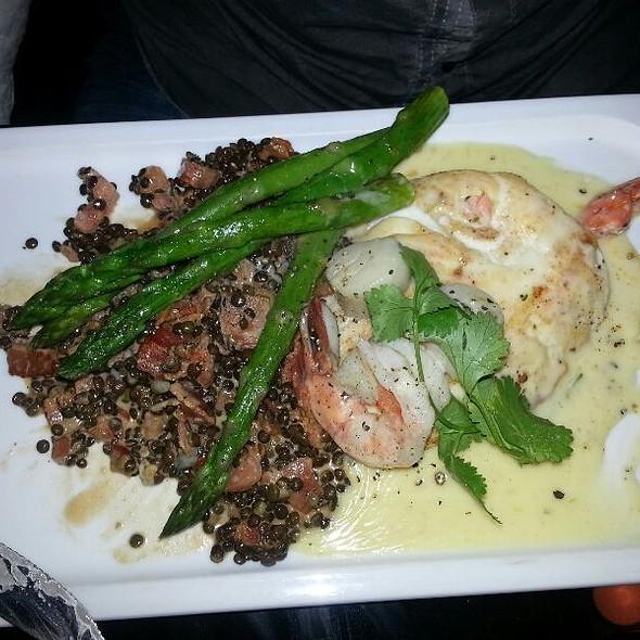Seafood Trio Platter - Nautical Nellies Steak & Seafood House, Victoria, BC