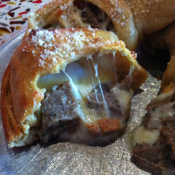 Meatball Calzone @ Mellow Mushroom