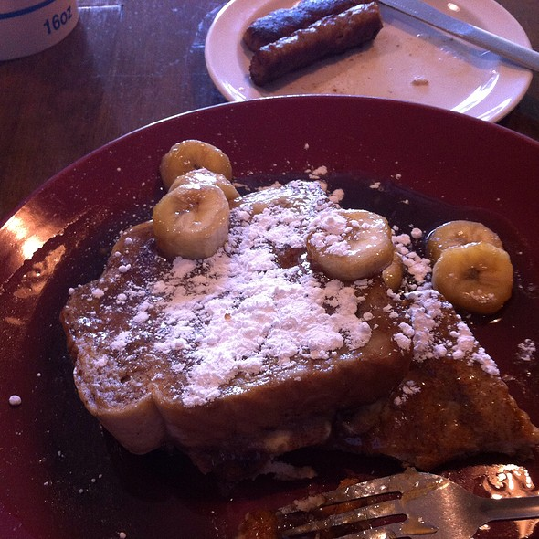 Banana Bourbon French Toast @ Blue Sky Cafe