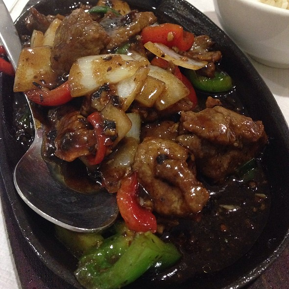 Sizzling Beef With Pepper
