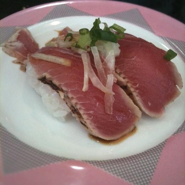 Maguro Tataki Nigiri Sushi @ SushiSan