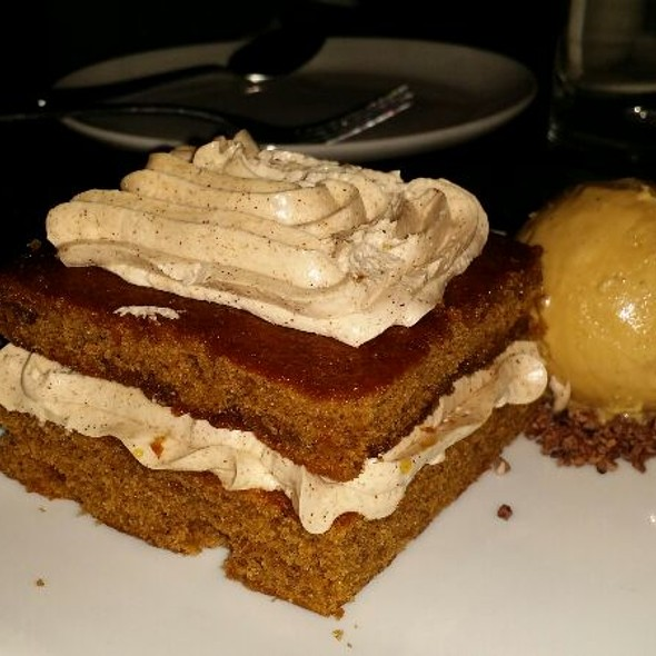 Carrot Cake And Spice Ice Cream @ The Chester